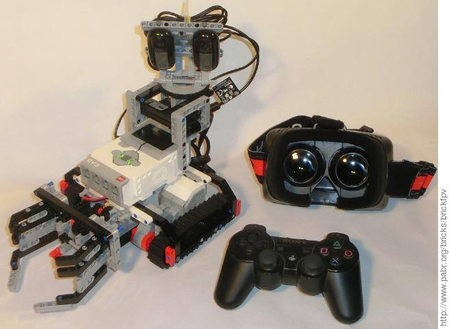 Camera Lego Nxt : First person view and remote control with lego mindstorms ev