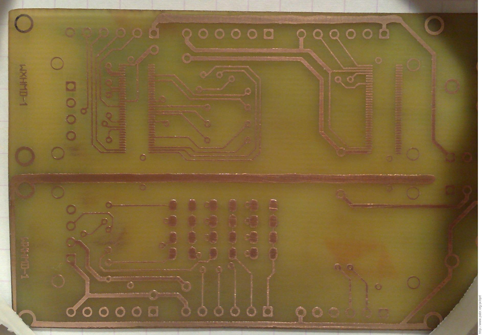 Pcbprt Experiments In Inkjet Pcb Printing Picture Of How To Waterproof Circuit Boards Epoxy Method 38 Is Cuprous Oxide The Best Media Figure 6 First Production