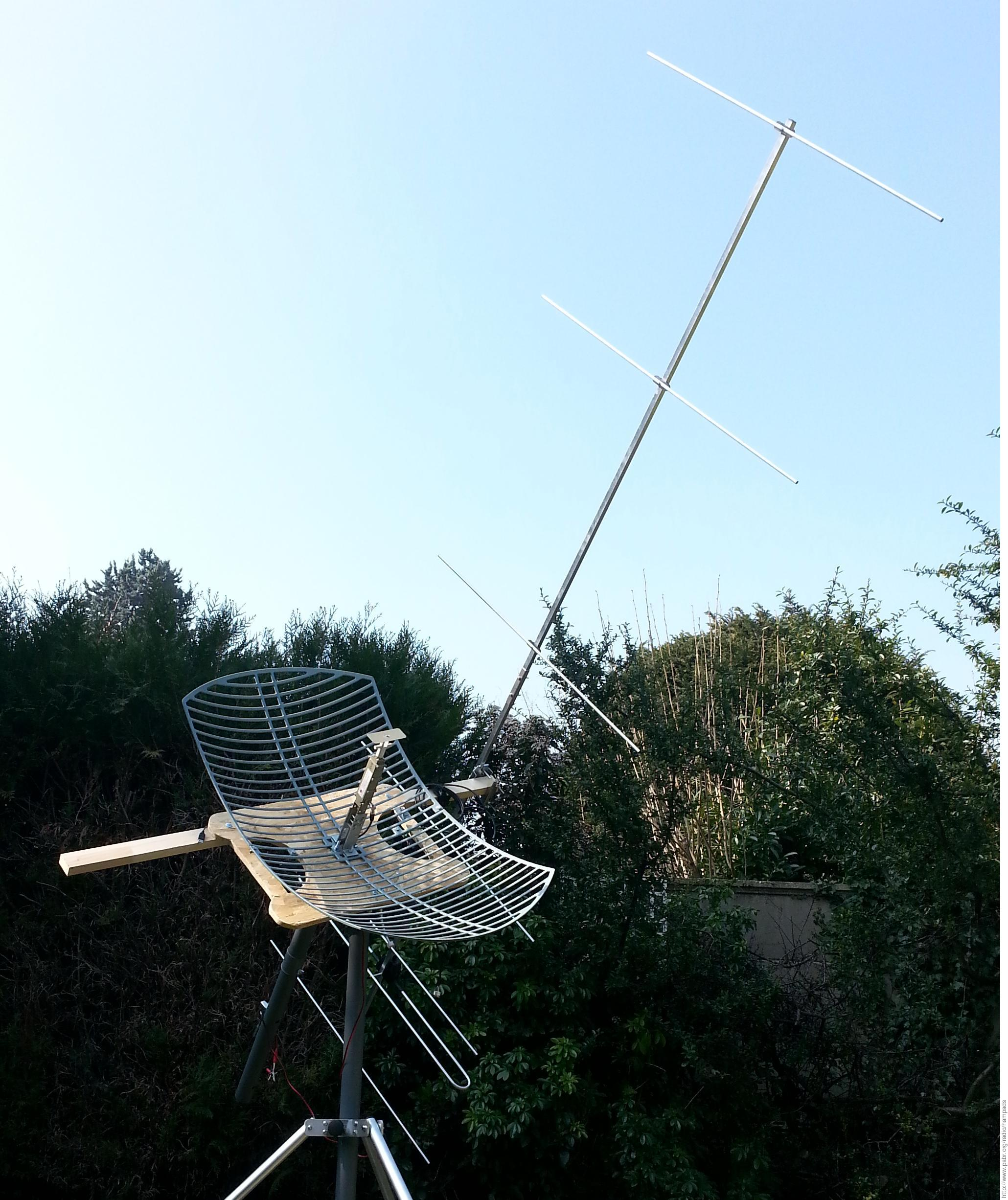 HAMPADS: HAM-Portable Affordable Dish for Satellites