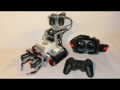Camera Lego Driver : First person view and remote control with lego mindstorms ev